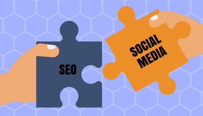SEO and social media links