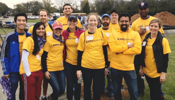 Asurion hosts a volunteer week