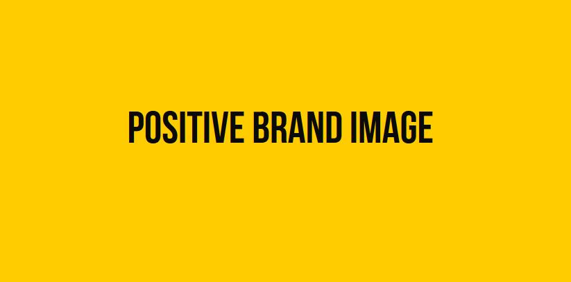 Positive Brand Image