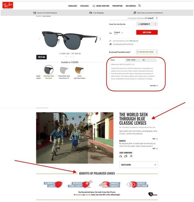 Clubmaster Metal sunglasses
